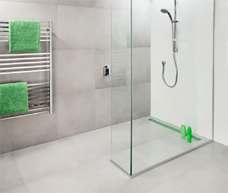 Wet Room Design Helensburgh Floorplan
